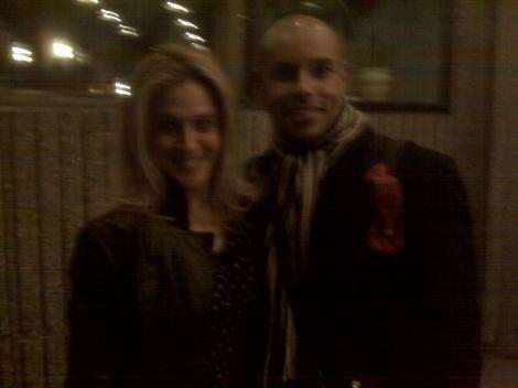 Lisa Lambert and I